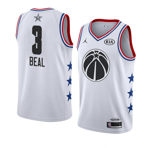 Camiseta Bradley Beal 3 All Star 2019 Blanco Hombre